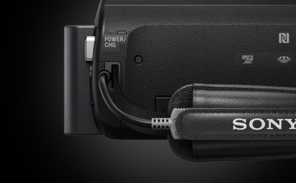 Ручная HD видеокамера с проектором Sony HDRPJ620