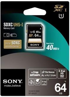 Карта памяти MicroSD Sony SF64UY
