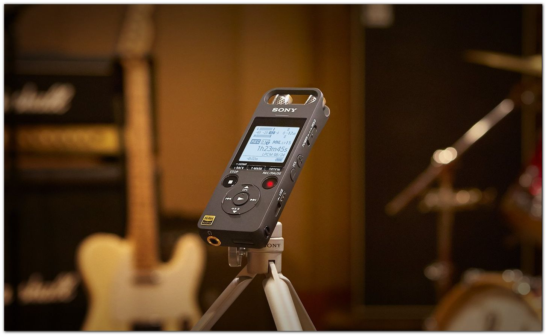 ЦИФРОВЫЕ СРЕДСТВА ЗАПИСИ ГОЛОСА Цифровой диктофон с дистанционным управлением по Bluetooth ICD-SX2000