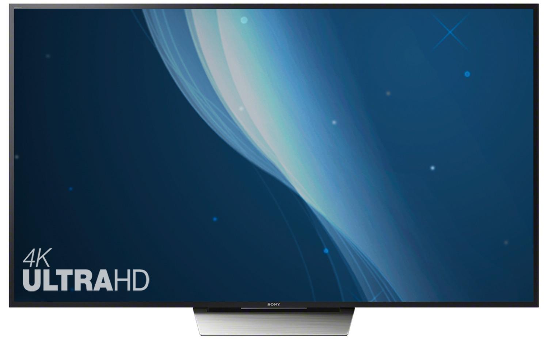 Телевизор Sony KD-55XD8599 черный