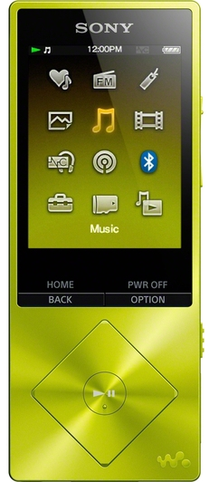 MP3-плеер Sony NW-A25HN Yellow