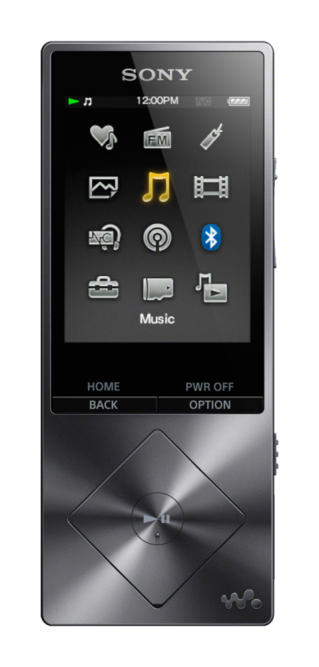MP3-плеер Sony NW-A25HN Black