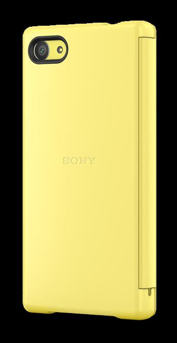 Чехол с умным окном SCR44, желтый