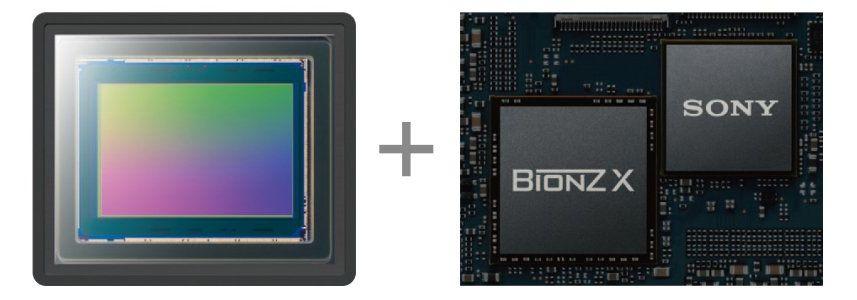 Матрица CMOS Exmor RS™, BIONZ X™ и интегрированный процессор