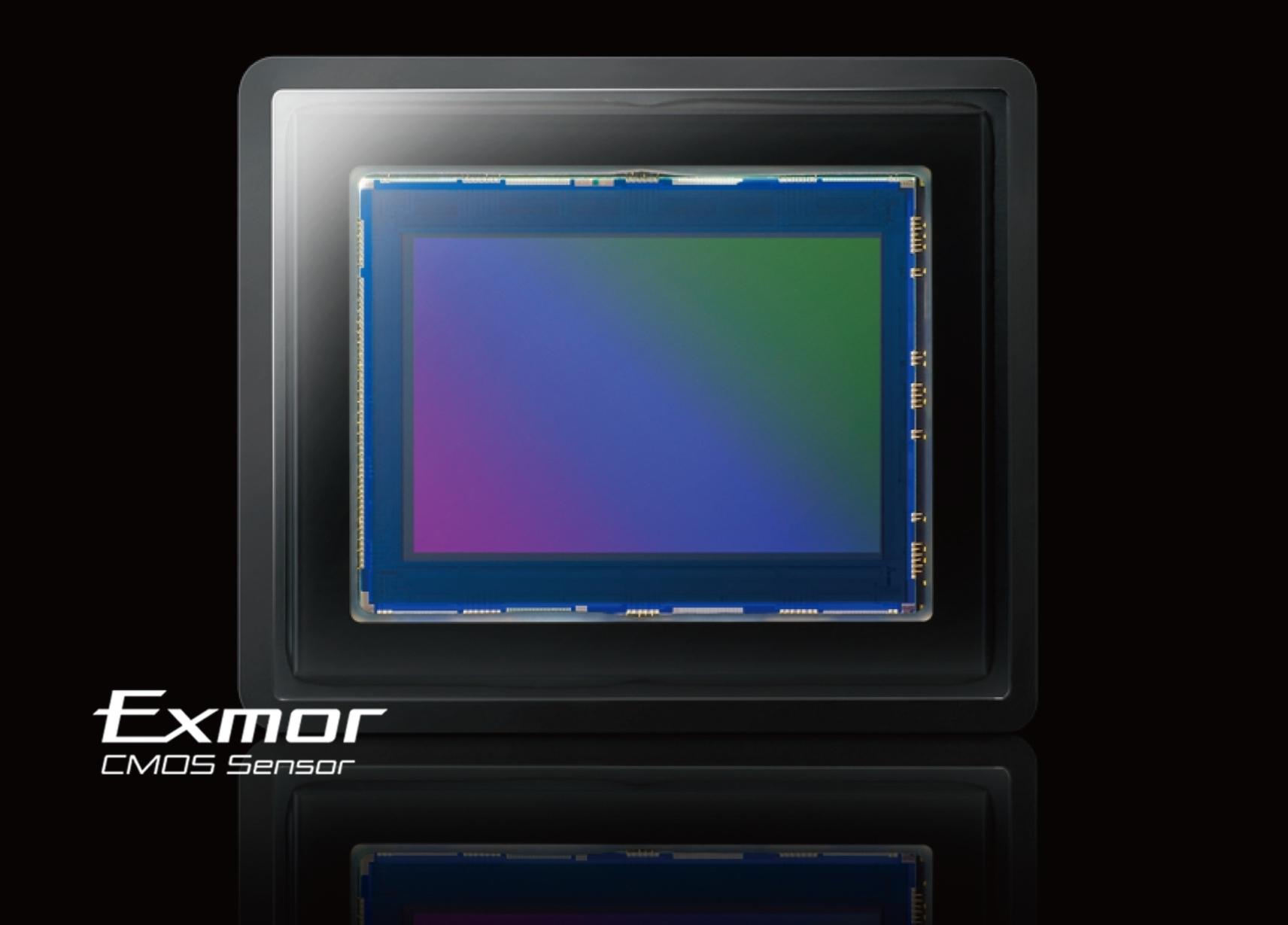 Крупная матрица Exmor® CMOS
