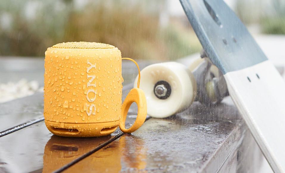 Sony SRSXB10 водонепроницаемая конструкция