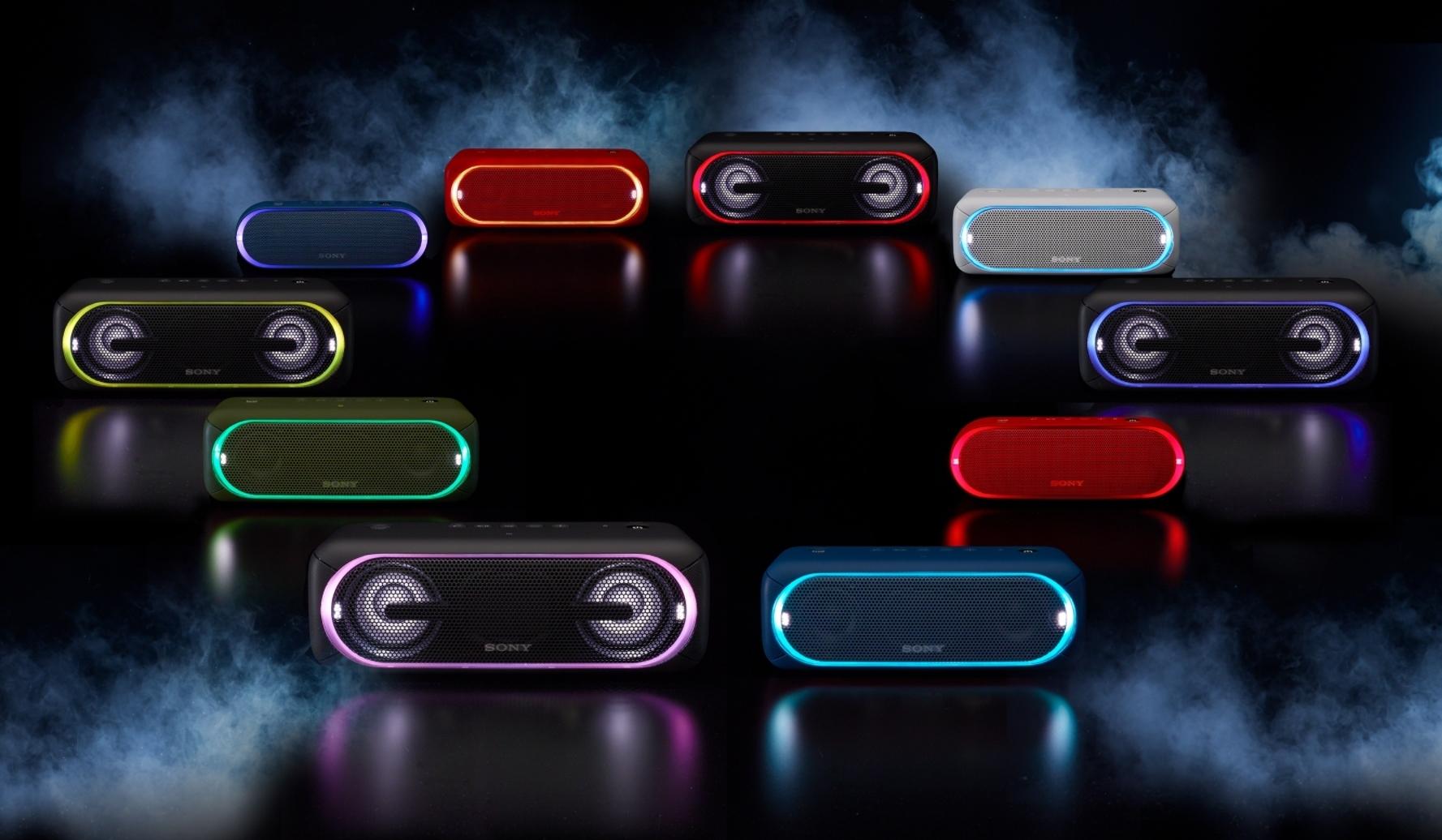 Sony SRS-XB20 Одноцветная линейная подсветка