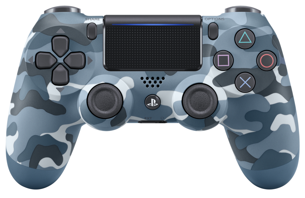 Dualshock 4 CUH-ZCT2E Blue Camouflage