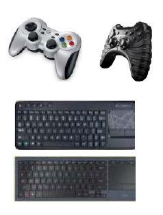 Рекомендуемые игровые контроллеры