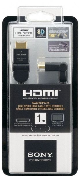 1-метр. кабель HDMI 1.4 Sony DLC-HE10H