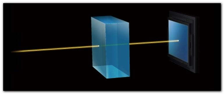 наличие оптического фильтра низких частот